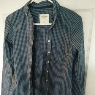 Women's Abercrombie & Fitch Casual Dress Shirt
