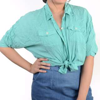 Just G Teal Top