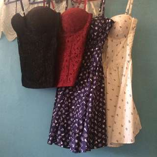 Corset Tops And Dresses