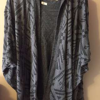 Hollister Poncho Top