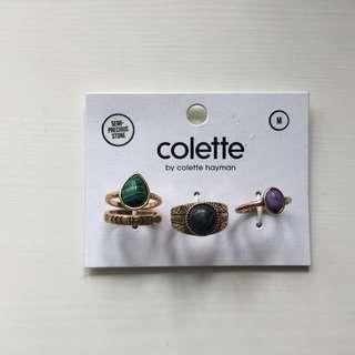 Colette Rings Set (AUS) SALE 50% OFF