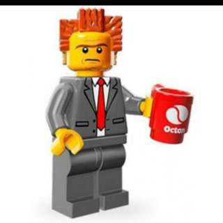 Lego Movie Minifig - 71004 ( President Business )