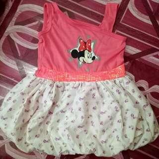 Minnie Mouse Balloon Dress