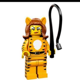 Lego Series 14 Minifigures - 71010 ( Tiger Lady )