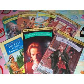 7 nearly new  classics story books for children,  clean & good classic story for primary to secondary students