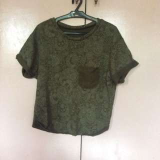 Vintage Style Cotton Top