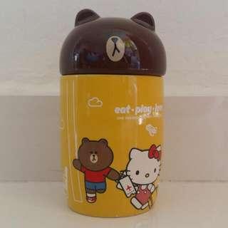 7-11 Hello Brown Line Mug Ceramic