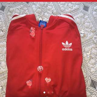 Red Adidas Sweater (price Reduction)