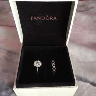 Authentic Pandora Rings Size 52