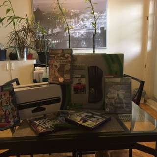 Xbox 360 And Kinects