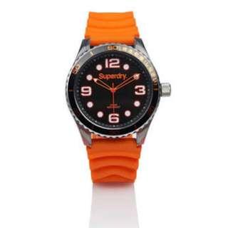 Jam Superdry Diver Scuba Tokyo Orange Original