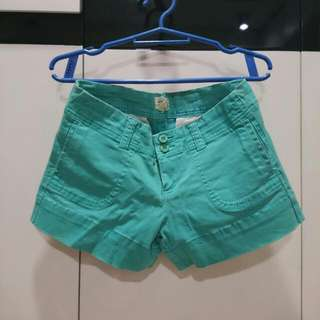 Forever 21 Teal Shorts