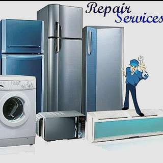 Washing Machines, Fridges & AC Repair Services. Residential, Domestic & Commercial.