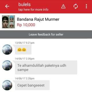 Bandana Rajut Murmer