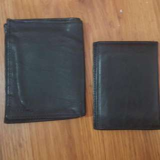 2 in 1 Leather Travel Wallet Salino