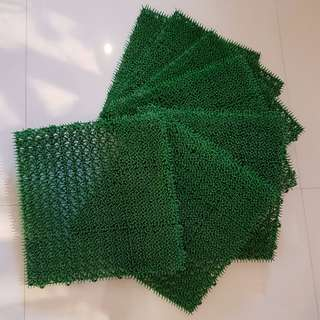 Artificial Synthetic Grass tiles (Set of 7 pieces)