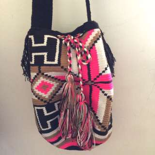 Wayuu大降價哥倫比亞手工編織包 實品拍攝現貨不需等