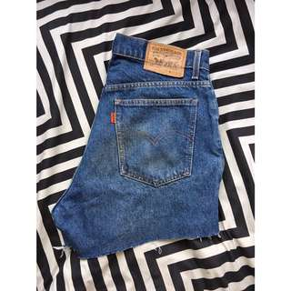 Levi's High Waisted Denim