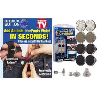 Perfect Fit Button - Free Magic Cleaning Sponge