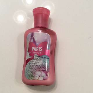 Bath And Body Works Paris Amour Lotion