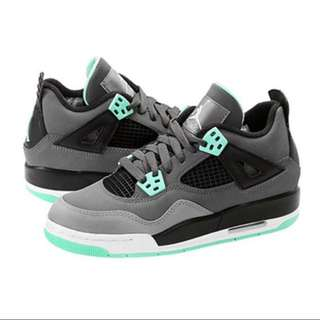 Nike Air Jordan 4 IV RETRO Green Glow 4代 灰綠