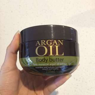 Argan Oil Body Butter Lotion