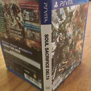 "PS Vita ""Soul Sacrifice Delta"""