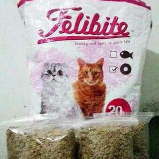 Dry food FELIBITE repack makanan kucing. Source · Felibite 500gr