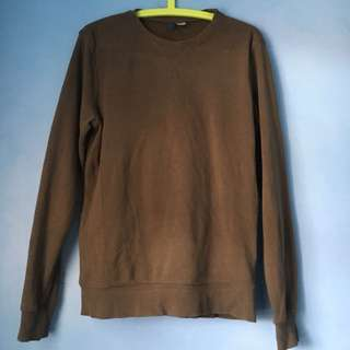 H&M Sweatshirt (Olive Green)