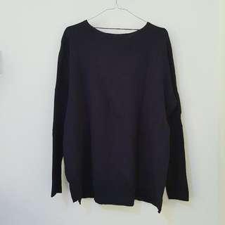 ZARA - Navy Sweater