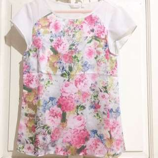 Floral Blouse From Atmosphere