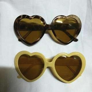 2 Heart Sunnies