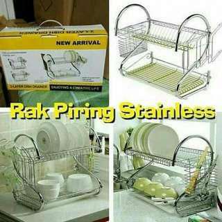 Rak Piring Stainless