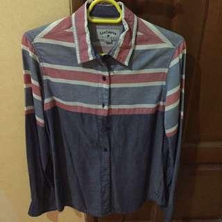 LEE COOPER Stripe Denim Shirt (NEW)