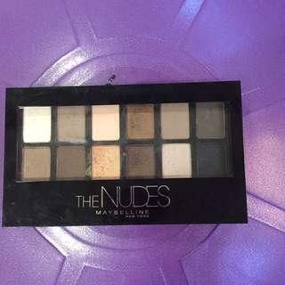 The Nudes Maybelline Eye Shadow