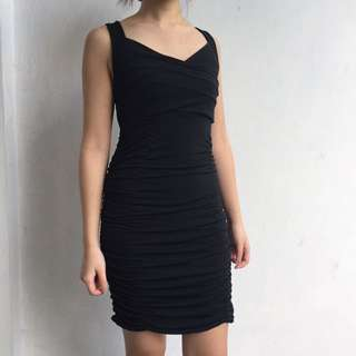 Black Body Fit Dress
