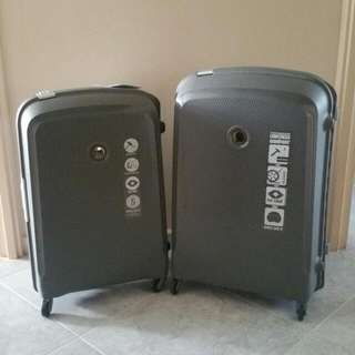 Delsey Paris Grey Hard Case Luggage (5y Warranty)