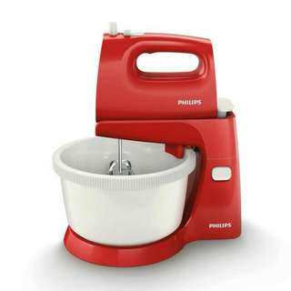Philips Mixer Stand Hr 1559 Red/ Mixed Comp Hr 1559