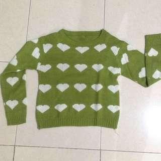 Sweater Wol Crop