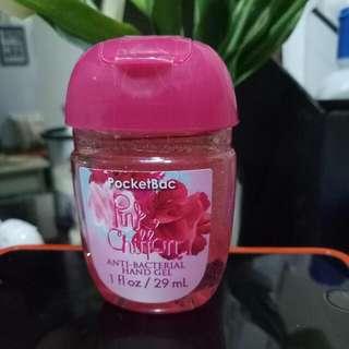 Pocketbac Bath and Bodyworks Authentic Anti-bacterial Hand Gel cuties....