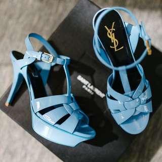 Sz36 Yves Saint Laurent Tribute Sandals YSL