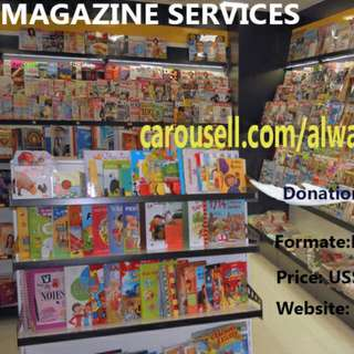 Let Me Know The  Magazine Of Your Choice I Sell It to you  In PDF Formate