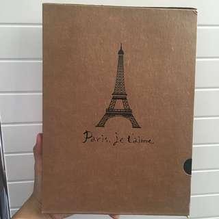 相簿 筆記簿 日記簿 記事簿 法國巴黎艾菲爾鐵塔