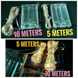 5 Meter (5m) 10 Meters (10m) Fairy Light Or Pixie Light - Actual Pic - These Are Not Stock Photos