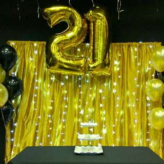 Birthday Party Decoration Package