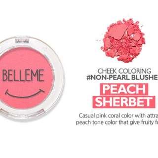 BELLEME SHY SMILE BLUSHER in Peach Sherbet