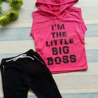 Pink Hoody + Jogger Pants