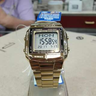 Unisex Casio DB360 - 1AV Gold