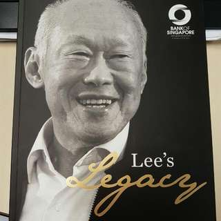 Book on LKY - Lee's Legacy