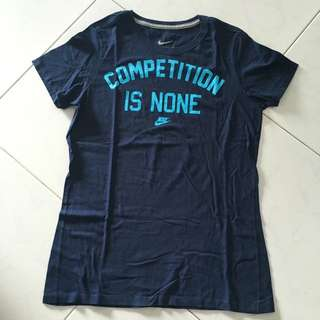 Nike Shirt - COMPETITION IS NONE